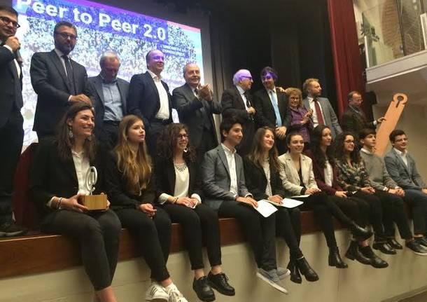 Studenti premiati al concorso Scuola@2015