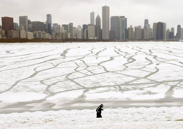 Tempesta di neve Usa