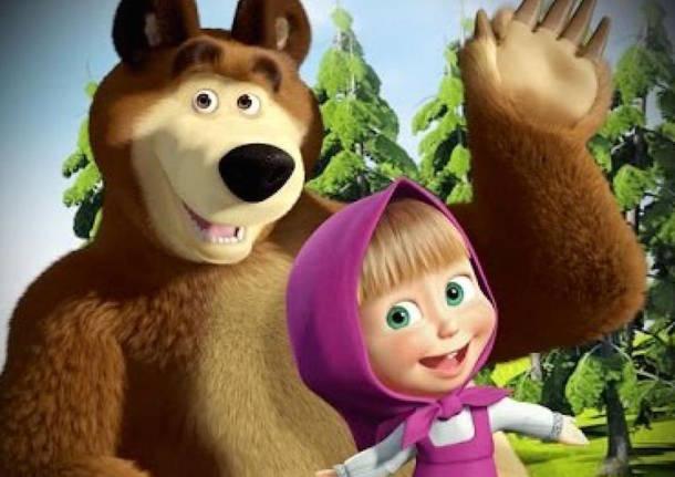 Masha e orso lo spettacolo è a teatro