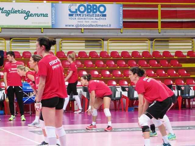 allenamento congiunto uyba - club italia
