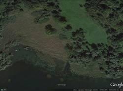 Angera, disboscamento nell'area della Buschera