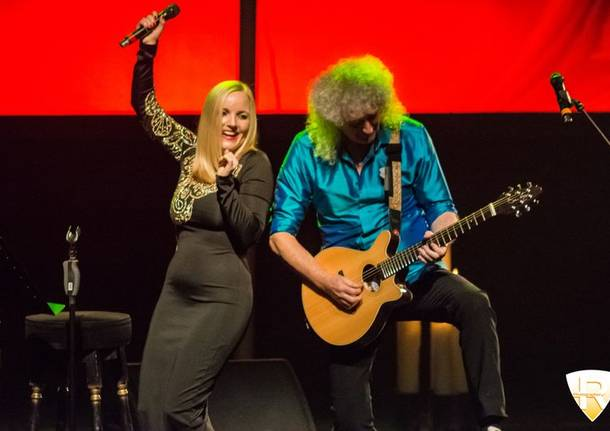 Brian May e Kerry Ellis in concerto agli Arcimboldi
