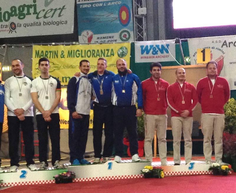 Campionato italiano indoor tiro con l'arco 2016