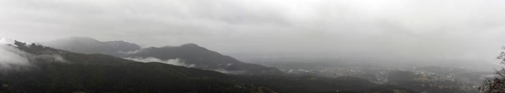 Pioggia sopra Varese