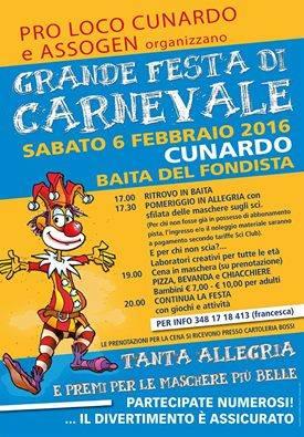 Carnevale a Cunardo