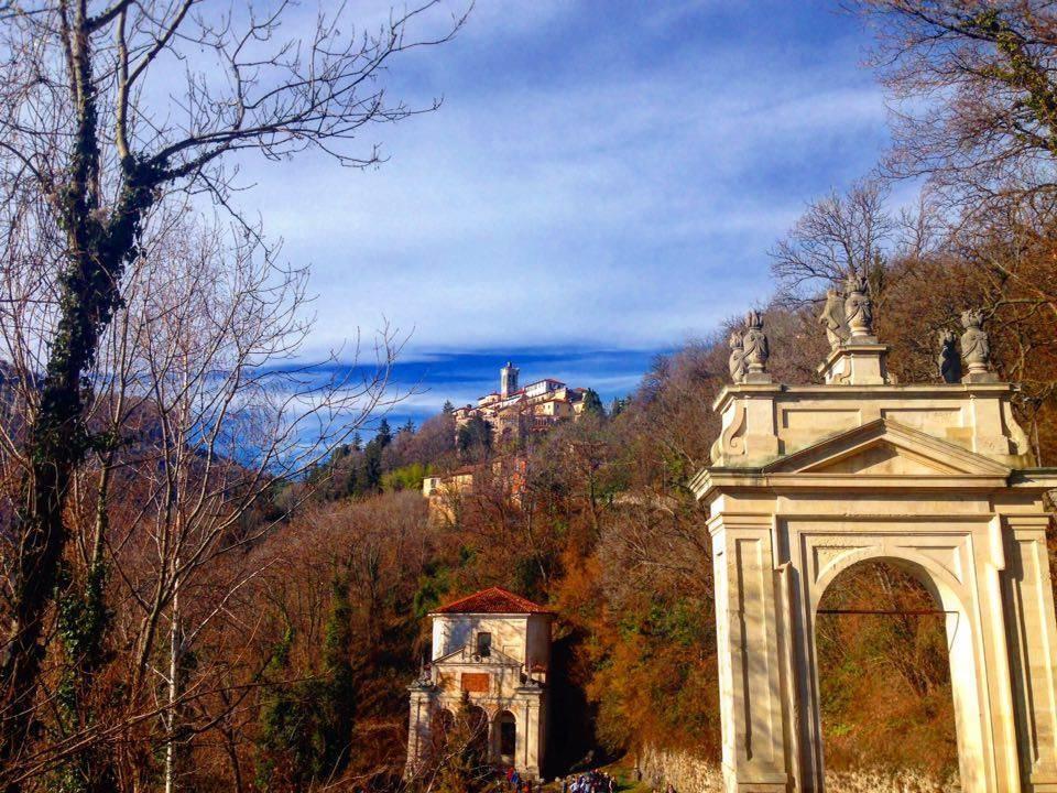 La salita a Sacro Monte