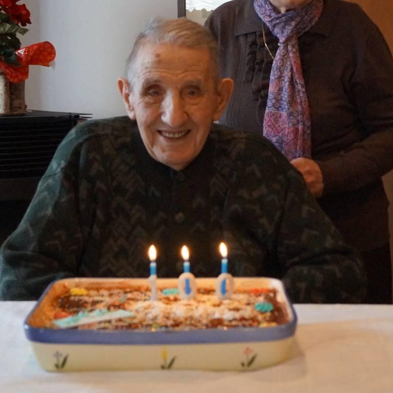 Tanti auguri Angelino per i tuoi 100 anni!!