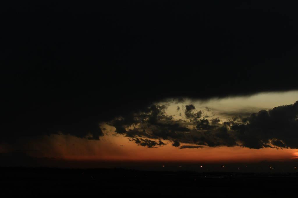 Malpensa al tramonto!