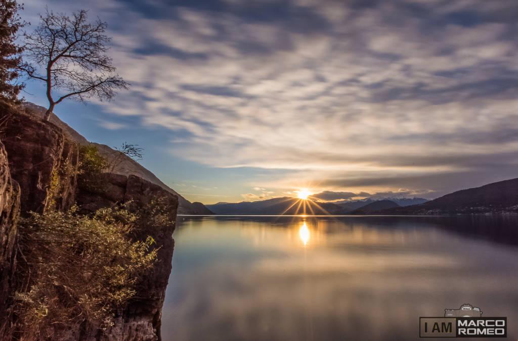 La magia di un tramonto...