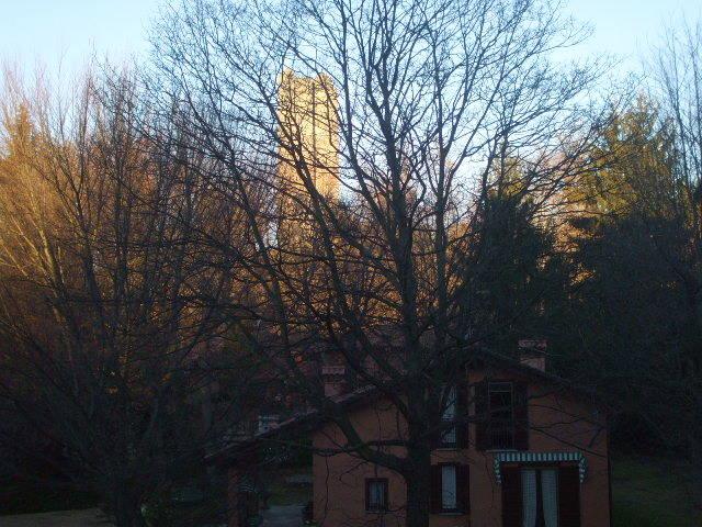 La Torre col primo sole.....