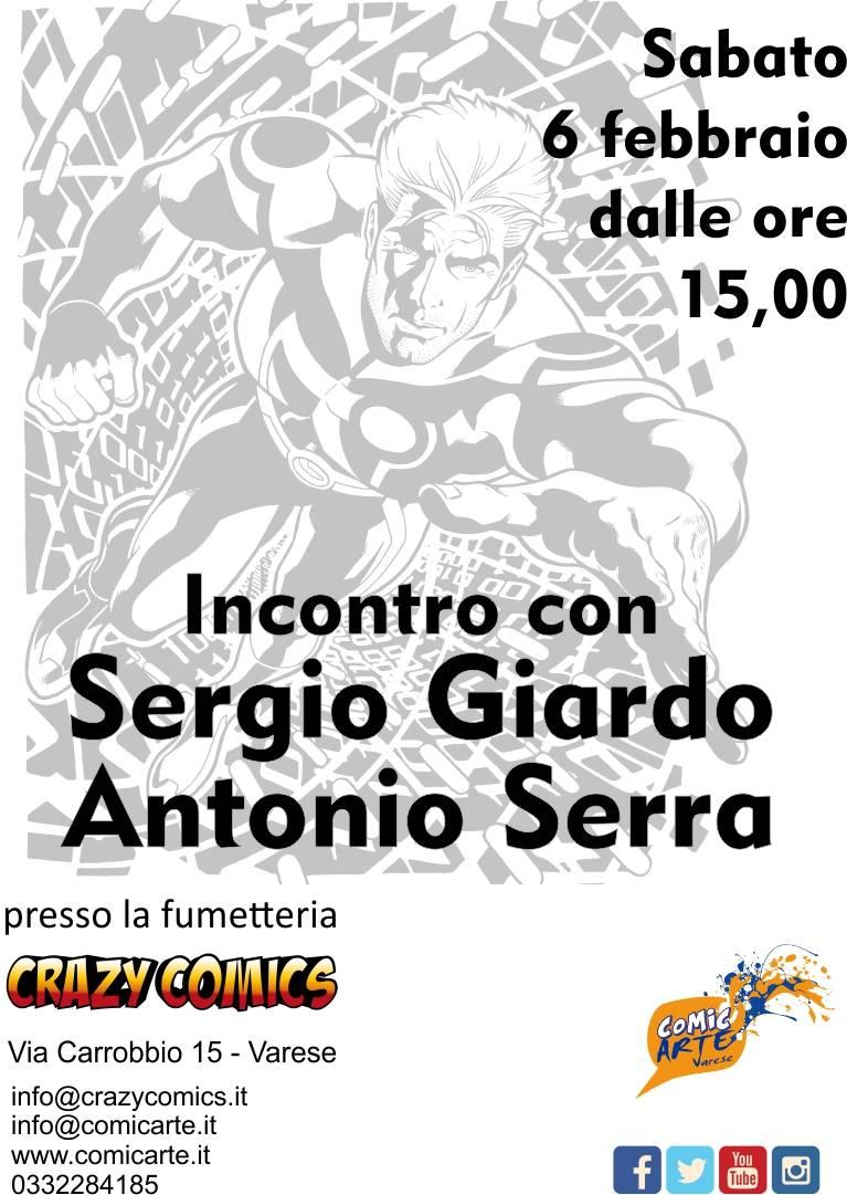 Nathan Never - Incontro con Antonio Serra e Sergio Giardo