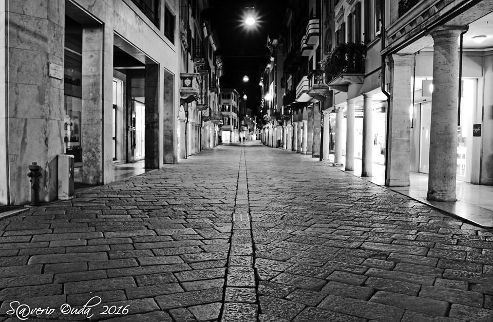 Una sera d\'inverno in Corso Matteotti