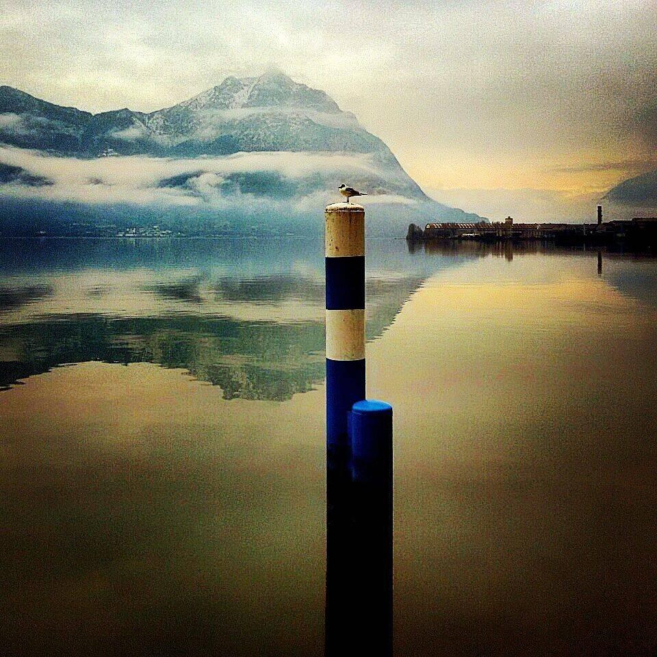 Il lago oggi