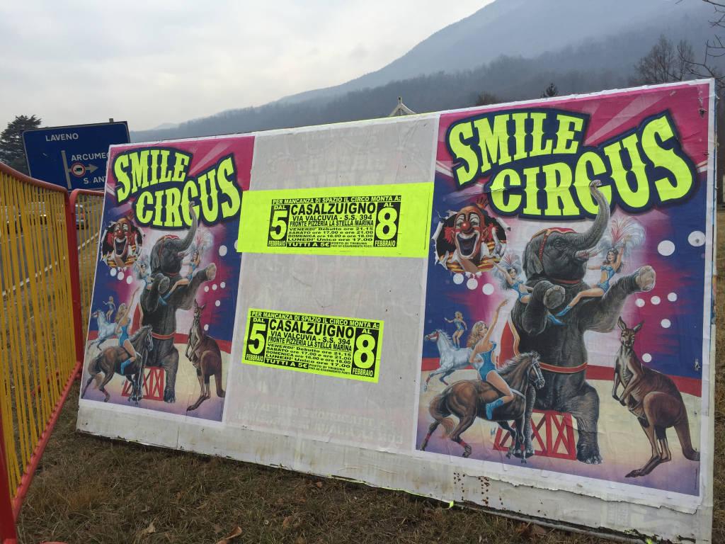 Casalzuigno, arriva il circo