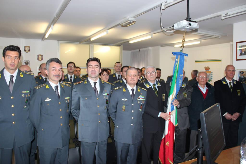 Comandante regionale visita Gdf Varese