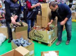Contraffazione, sequestrati 150 mila articoli