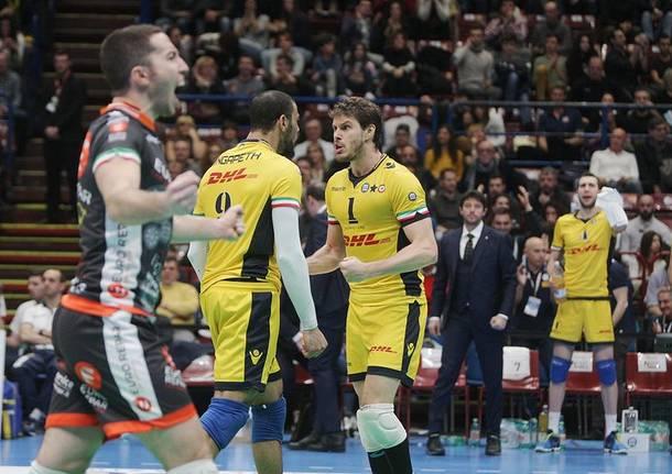 Modena travolge Trento nella finale di Coppa Italia