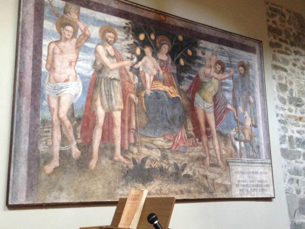 Gli affreschi dell'Abbazia di San Donato