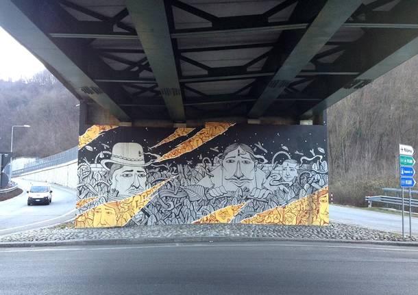 Sea Creative, il nuovo murales in Viale Belforte