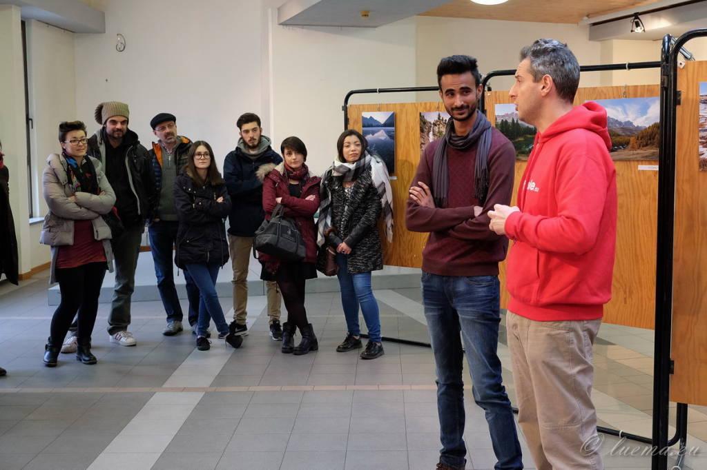 Inaugurazione mostra fotografica di Jabran Azam