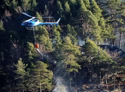 Incendi in Valle Vigezzo