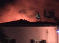 Incendio Luino 3 febbraio 2016