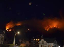 Incendio Val Vigezzo malesco villette