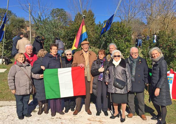 La cerimonia del giorno del Ricordo a Varese