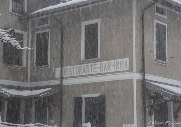 La neve al Sacro Monte