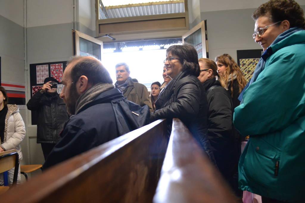 La stazione aperta a Busto Arsizio