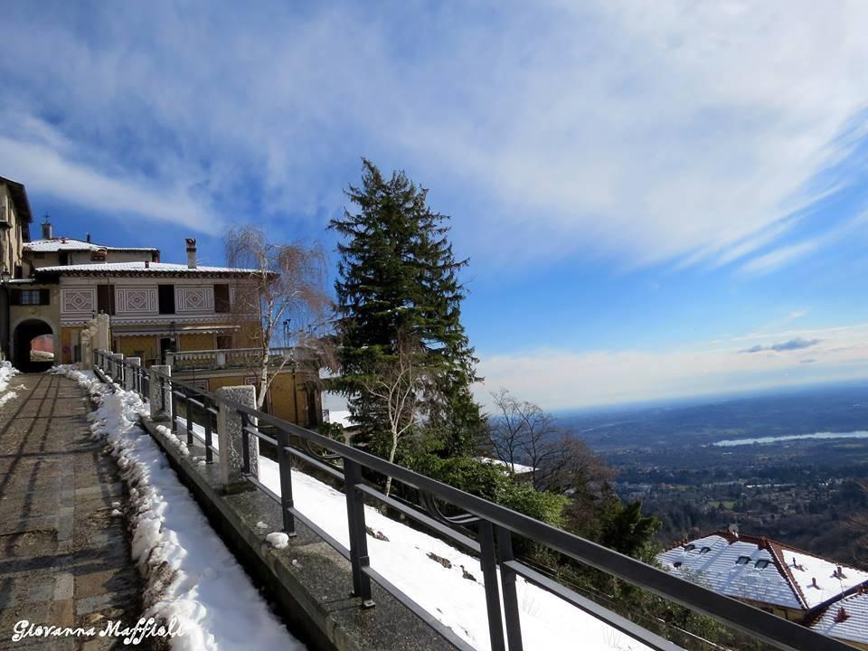 La vista da Sacro Monte
