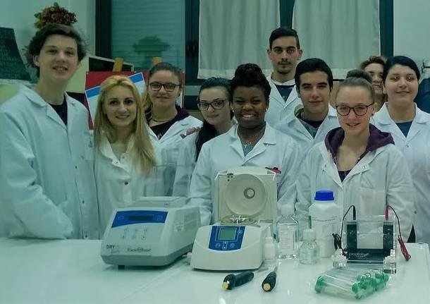Laboratorio biologico molecolare