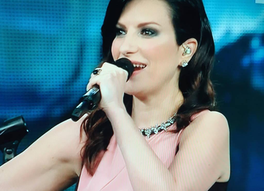 Laura Pausini al Festival di Sanremo