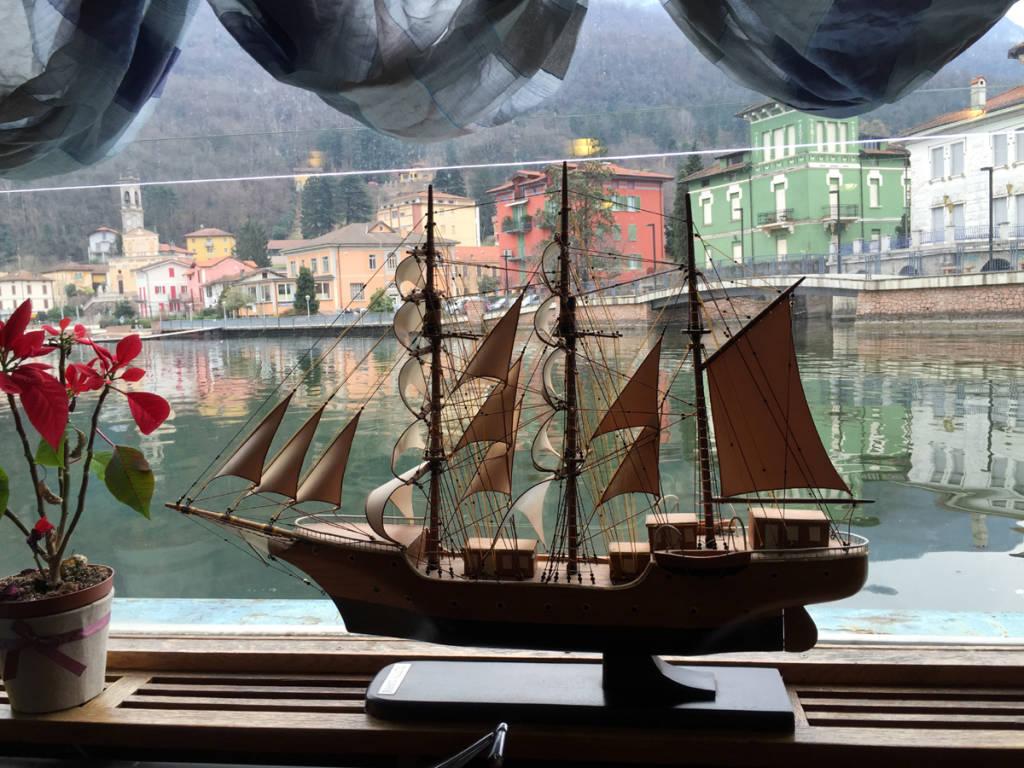 Lord Nelson a Porto Ceresio