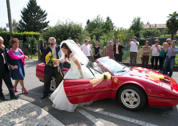 Matrimonio In Ferrari : In ferrari o in vespa le foto dei matrimoni di martedì febbraio