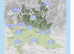 meteo cartina lombardia
