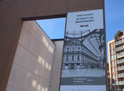 mostra Ritratti monumenti Maga Gallarate