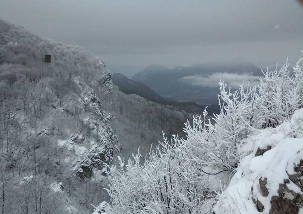 Neve al Campo dei Fiori