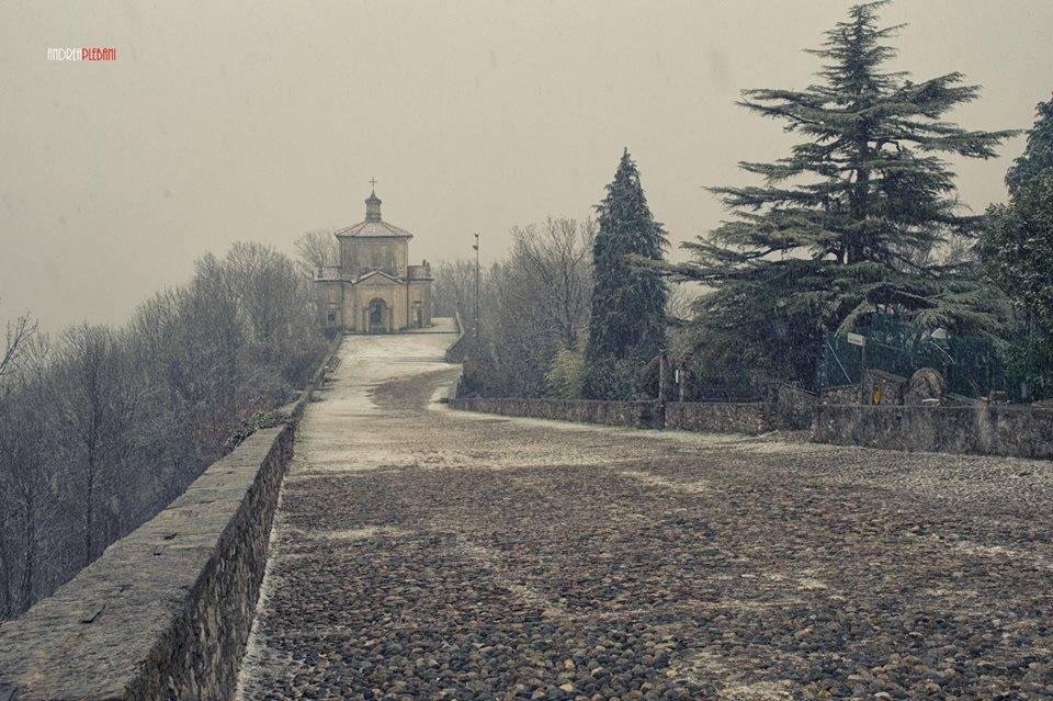 Neve al Sacro Monte