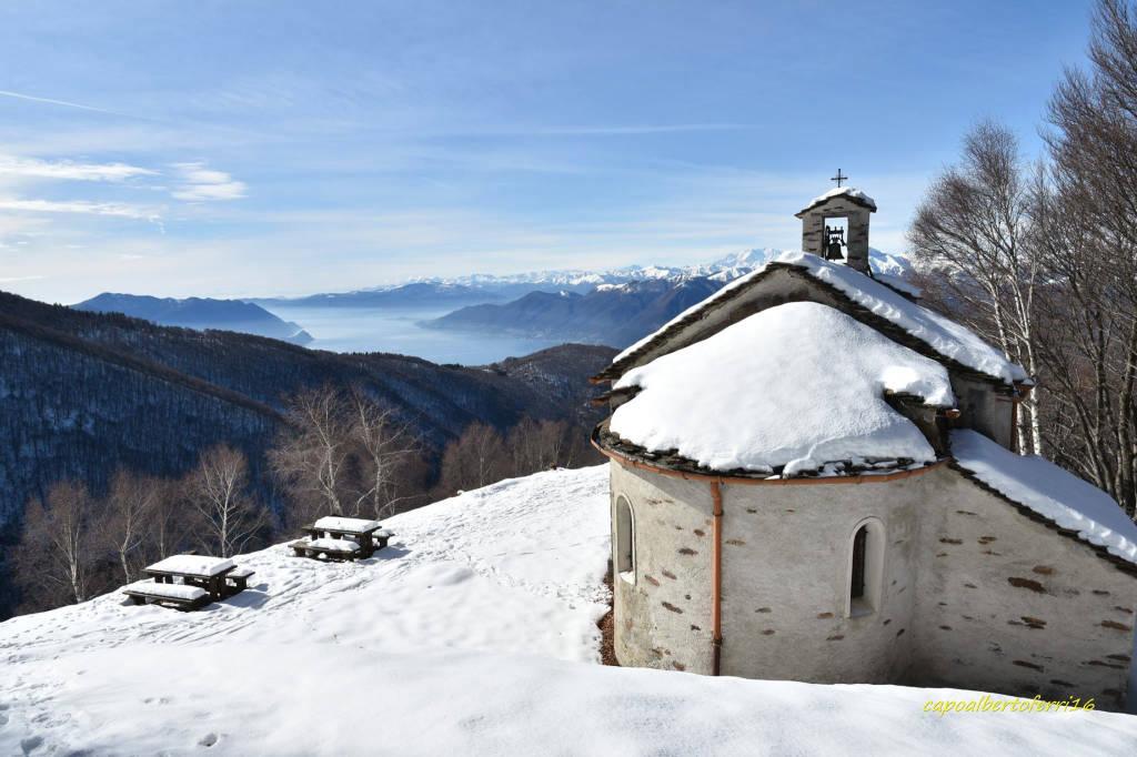 Neve all'Alpone di Curiglia