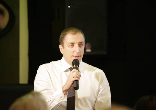 Paolo Orrigoni, le foto della conferenza stampa al Twiggy 20 febbraio 2016