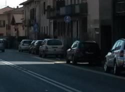 pista ciclabile come parcheggio
