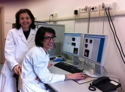 Professoressa Tosi con la ricercatrice Greta Forlani
