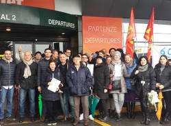 protesta AdL Movimento 5 Stelle Malpensa
