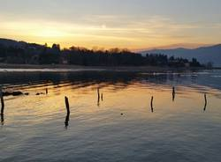 """Ranco, il lago """"si allontana"""""""