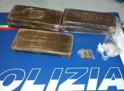sequestro hashish cocaina soldi polizia stradale