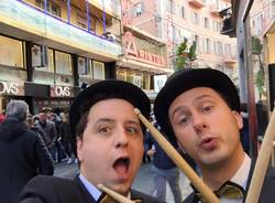 Stefano e Fabio a Sanremo