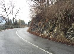 strada provinciale 62 rancio valcuvia febbraio 2016