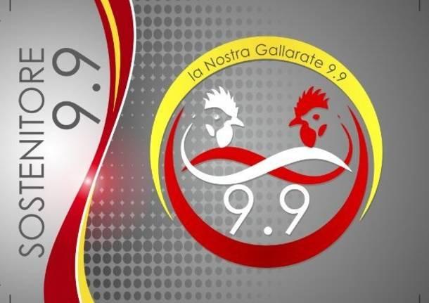 tessera sostenitore La Nostra Gallarate 9.9