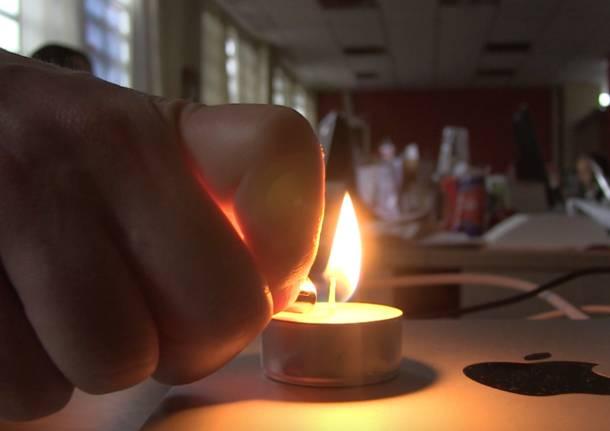 VareseNews a lume di candela